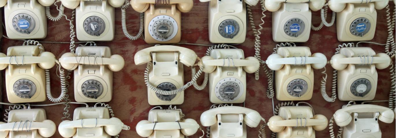 Ancien Telephones Fixes Entreprise