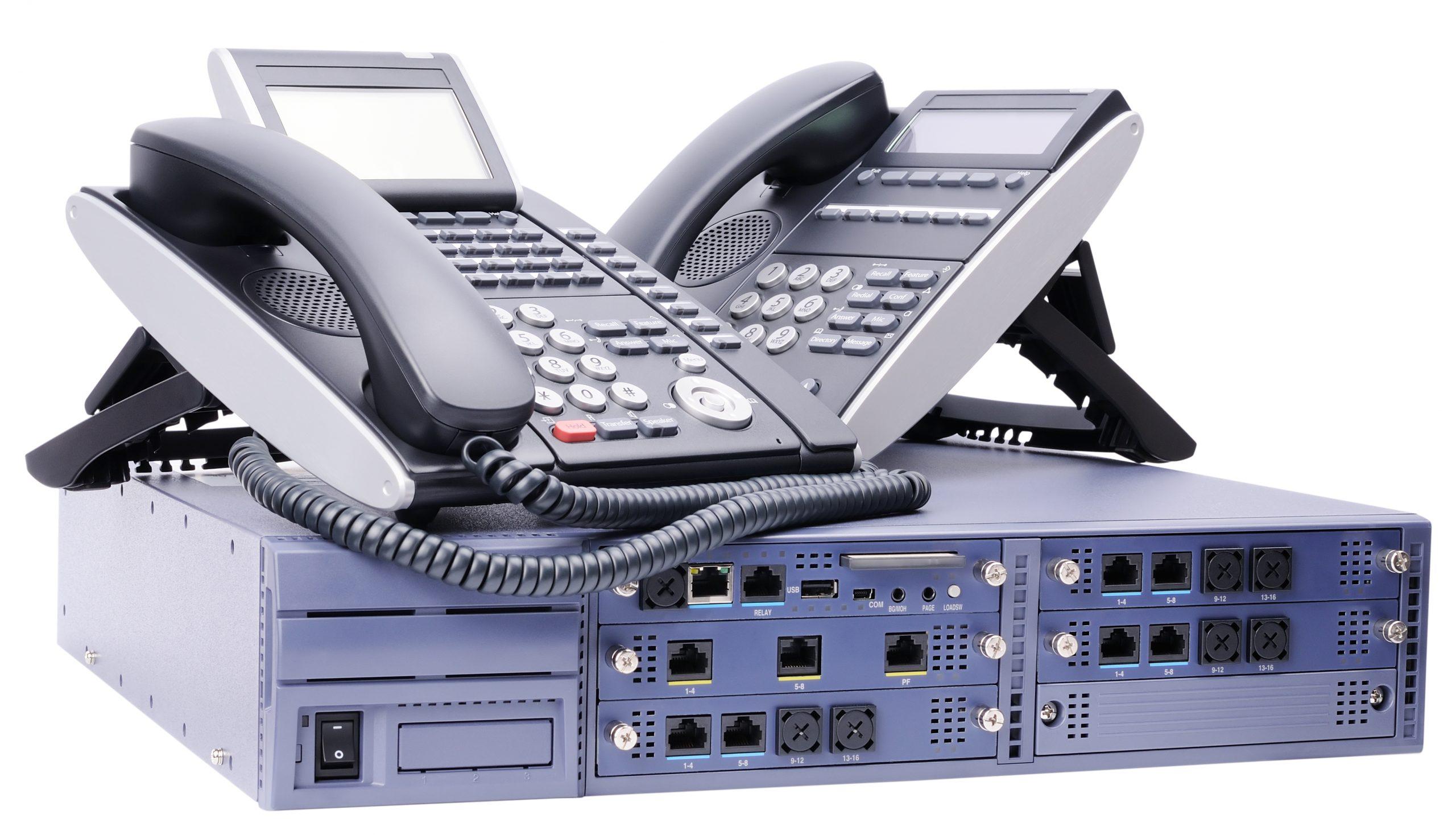 Système de téléphonie professionnelle traditionnelle