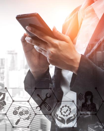 standard téléphonique sur mobile